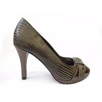 Sapato Feminino Peep Toe Via Marte ** Promoção **