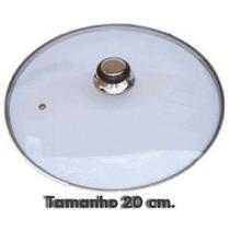 Tampas Para Frigideiras E Panelas De Vidro Temperado 20 Cm