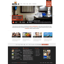 Site Para Hotel, Motel E Pousadas Responsivo Versão 2.0
