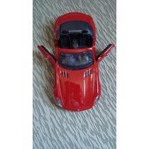 Carrinho De Ferro Coleção Mercedes Benz Sls Amg 1/24