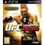 Lajeado - Rs Ufc Undisputed 2010 Ps3- Pronta Entrega