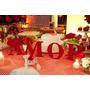 Letras Em Mdf Amor 20 Cm - Decoração De Casamento!