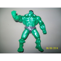 Boneco Brinquedo Infantil Super Heroi Hulk 14 Cm