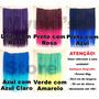 Aplique Tic Tac Liso Colorido Duas Cores - Roxo Rosa Azul
