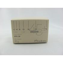 Natura Chronos Antissinais Noite 45+ Detox Celular Refil 30g