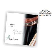 Jogo De Cordas Para Harpa Pedal - 1º Oitava Nylon - Bow Bra