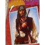 Peruca & Bandana Pirata Jack Sparrow Fantasia Cabelos 60 Cm