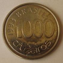 110.41- Moeda 1000 Cruzeiros Fauna Brasil Peixe Acará 1993