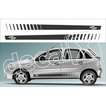 Kit Faixas Adesivos Chevrolet Corsa Ss Cm2007 - 3m - Decalx