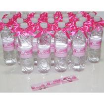 50 Rotulos Garrafinha Agua Personalizados