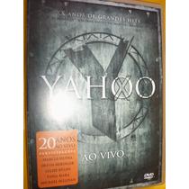 Dvd Yahoo 20 Anos De Hits Ao Vivo Marcos Menna Tania Mara +