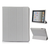 Kit Smart Cover Ipad Mini + Super Capa Case Tampa Traseira