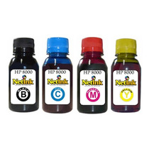 Kit Tinta Qualyink 250ml - 4 Cores