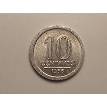 Fc) Data Escassa) 10 Centavos - 1956