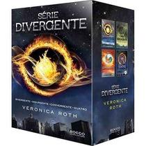 Box Livros Divergente + Insurgente + Convergente E Quatro