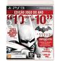 Jogo Batman Arkham City Edição Jogo Do Ano - Ps3 - Seminovo