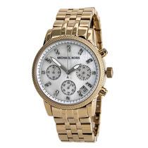 Relógio Michael Kors Rosê Modelo Mk-5026 Com Caixa E Manual