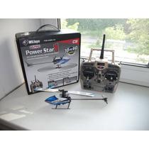 Helicóptero V977 3d 6ch Brushless - Melhor Q V922 V911 Show
