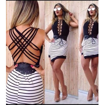 Blusa Feminina Body Bicolor 3d Com Bojo