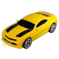 Caixa De Som Camaro Amarelo