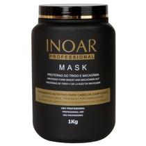 Máscara Inoar Tratamento Proteína Do Trigo E Macadâmia 1 Kg