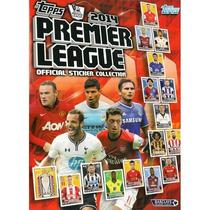 Premier League 2014 Topps 100 Figurinhas Avulsas + Album