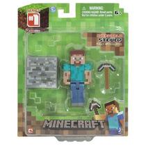Minecraft Mini Figuras Colecionáveis Steve - Sedex Ou Pac