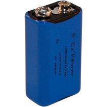 Bateria 9v 400mah Li-on Recarregavel