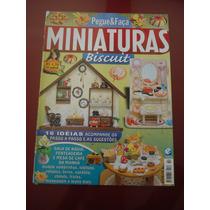 Revista Pegue E Faça Miniaturas Biscuit N°2