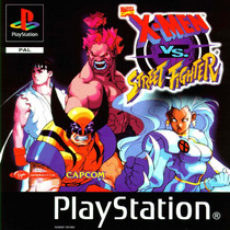 X-men Vs. Street Fighter - (psp - Ps1 -ps2) Frete Gratis