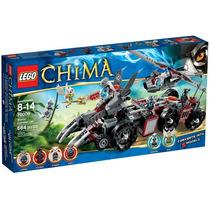 Brinquedo Lego Chima O Covil De Combate De Worriz 70009