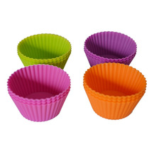 Forma Silicone C/12 Cupcake Muffins Queijadinha Petit Gateau