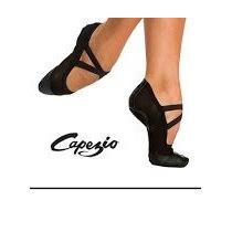 Sapatilha Capezio Glove Foot Stretch (em Couro) Núm.35 Preta