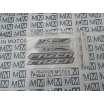 Kit Jogo Faixa Adesivo Yamaha Fazer Ys 250 2005 Até 2012