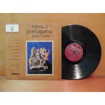 Disco Vinil Lp Música Portuguesa Para Cravo Seixas Cordeiro