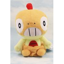 Pelúcia Pokemon Scraggy Nintendo 15 Cm Raridade Banpresto