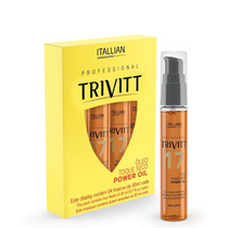 Itallian Hairtech Trivitt Power Oil Nº 17 4x20ml - Lily Bela