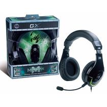 Headset Gamer Genius Hs-g600 Mordax Fone Xbox Ps3 Pc Mac