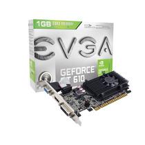 Geforce Evga Nvidia Gt 610 Low Profile 1gb Ddr3 64 Bits 100