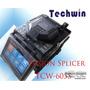Maquina De Fusão Fibra Óptica Splicer Tcw 605s C/ Nf
