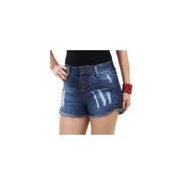 Short Feminino Em Jeans Modelo Hot Pants
