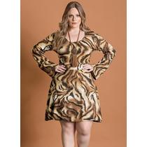 Vestido Gordinha Plus Size Extra Grande Estampado Promoção!