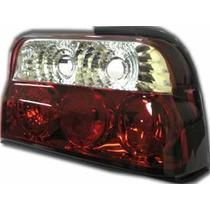 Tuning Imports Par De Lanterna Altezza Red Ford Escort 93/96