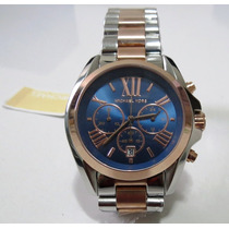 Michael Kors Mk5606 Bradshaw Rose Gold Chrono Dial
