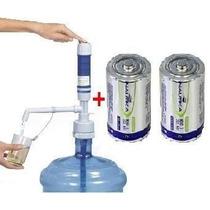 Bomba Elétrica Garrafão De Água Mineral 20l + 2 Pilhas D