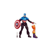Boneco Capitão América Bucky B A Z Marvel Leg Hasbro 37539