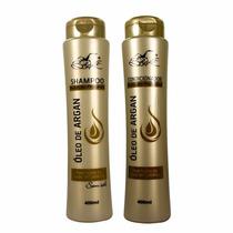 Kit Shampoo E Condicionador 12 Unidades Argan Belkit + Binde