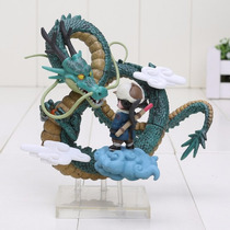Action Figure Shenlong E Goku Dragon Ball Pronta Entrega