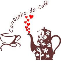 Adesivo Parede Cozinha Cantinho Do Café Xícara Coração
