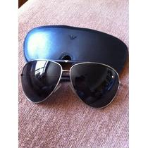 Oculos Emporio Armani Original Na Caixa Modelo Aviador